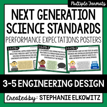 Grade 3-5 Engineering Design NGSS Posters