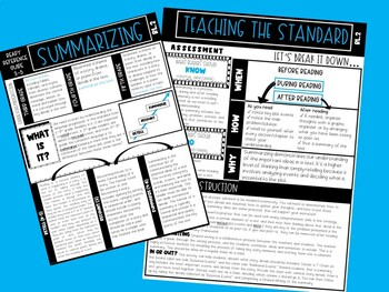 Grade 3-5 Ready Reference Guide: Summarizing