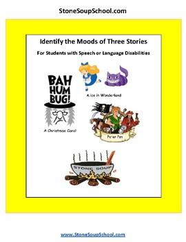 Grade 3 - 8 Moods of 3 Stories - Speech or Language Disabilities