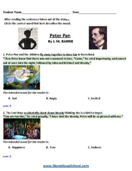 Grade 3 - 8 Moods of 3 Stories -Traumatic Brain Injuries, Christmas Carol