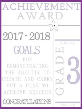 Grade 3 Achievement Awards