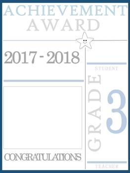 3rd Grade Achievement Awards