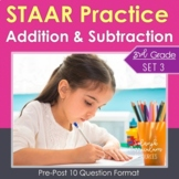 3rd Grade Math STAAR Practice Set 3: Addition and Subtraction