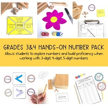 Grade 3 All About Numbers BUNDLE