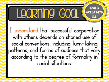 Version 8.3 Grade 3 All English Learning Goals & Success Criteria! AC