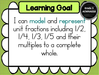 Grade 3 All Mathematic Strands Learning Goals & Success Criteria BUNDLED!