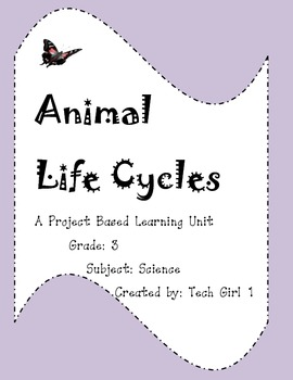 Grade 3 Animal Life Cycles