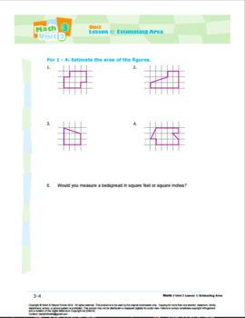 Grade 3: Math: Area and Measurement Quiz Bundle
