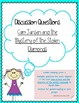 Grade 3 Book Discussion Questions / Guided Reading Bundle