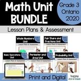Grade 3 Ontario Math Units Bundle