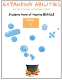 Grade 3 Bundle - For Hard of Hearing Students  - ALL Subjects