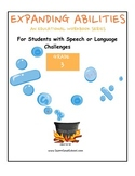 Grade 3 Bundle For Student w/Speech & Lang Challenges Expanding Abilities Series