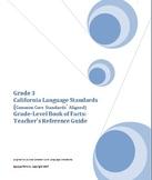 Grade 3 CA Language Standards, Grade-Level Book of Facts: