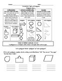 Grade 3 CCSS Geometry Sampler for JUST PICK IT UP AND TEACH!