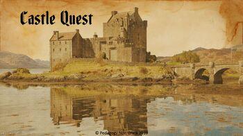 Grade 3 Castles Smart Board Reading Game