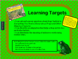 Grade 3 Common Core Engage NY ELA Module 2a Unit 2 Lessons 1-6