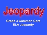 Grade 3 Common Core English Language Arts Jeopardy