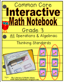 Grade 3 Common Core Interactive Notebook Operations and Al