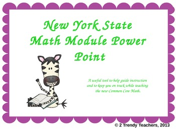 Grade 3 NYS Module 2: Lesson 5 Power Point
