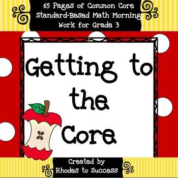 Grade 3 Common Core Math Assessments
