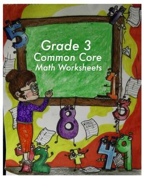Grade 3 Common Core Math: Operations and Algebraic Thinking 3.OA.A.3 #1-3