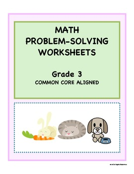 Grade 3 Common Core Math Worksheets with RUBRICS