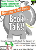 Grade 3 Common Core Non Fiction Reading Groups