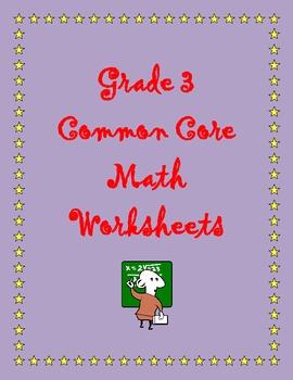 Grade 3 Common Core Math: Operations and Algebraic Thinking 3.OA.A.3 #3