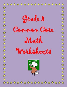 Grade 3 Common Core Math: Operations and Algebraic Thinking 3.OA.D.8 #1