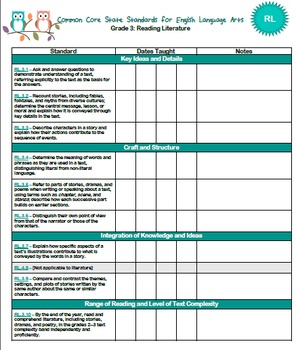 Grade 3 Common Core Pack