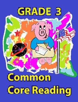 Grade 3 Common Core Reading: Literature Worksheet Bundle