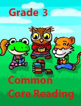 Grade 3 Common Core Reading: Tom's Journal