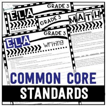 Grade 3 Common Core State Standards