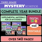 Grade 3 | Complete Mystery Science ENTIRE YEAR Bundle | Di