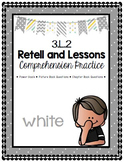 Grade 3 Comprehension -3.L.2 Retell & Lesson WHITE
