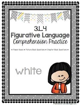 Grade 3 Comprehension -3.L.4 Figurative Language- White