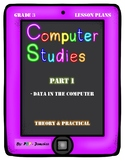 Grade 3 Computer Studies Lesson Plan on Data