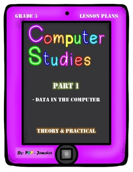 Grade 3 Computer Studies Lesson Plan on Computerized Machines