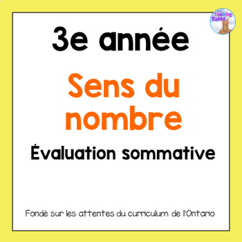 Grade 3 Counting Test (French)
