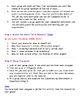 Grade 3 Cyberbullying Unit Lesson 3