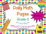 Grade 3 Daily Math Bundle
