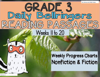 Grade 3 Daily Reading Practice (Weeks 11-20)
