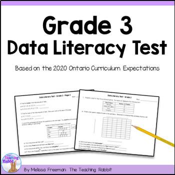 Grade 3 Data Management Test (Ontario Curriculum)