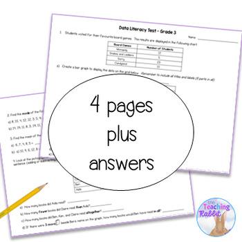 Grade 3 Data Management Test