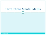 Grade 3 Differentiated Mental Maths