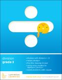 Grade 3 Division Workbook: Making Math Visual
