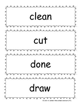 Grade 3 Dolch Sight Words