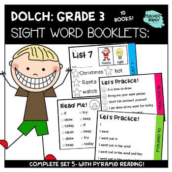 photograph about Printable Sight Word Cards called Quality 3 - Dolch Sight Terms Playing cards - NO PREP, Printable, Pyramid Examining