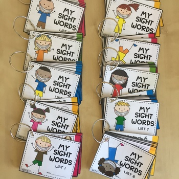 Grade 3 - Dolch Sight Words Cards - NO PREP, Printable, Pyramid Reading