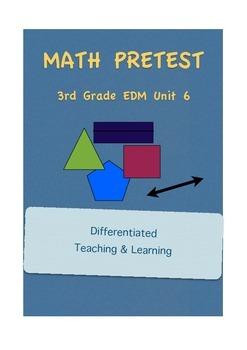 Everyday Math 3rd Grade Unit 6 Pretest